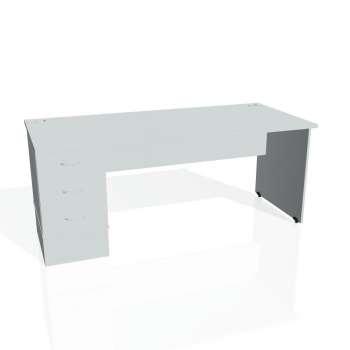 Psací stůl Hobis GATE GSK 1800 23, šedá/šedá