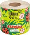 Toaletní papír Beruška - 1vrstvý, recykl, 40 m, 1 role
