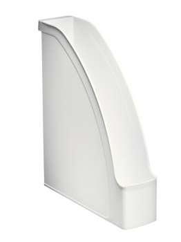 Stojan na časopisy LEITZ PLUS - plastový, bílý
