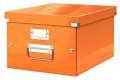 Krabice LEITZ WOW Click-N-Store - A4, univerzální, oranžová