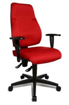 Kancelářská židle Topstar Lady Sitness Lux - červená