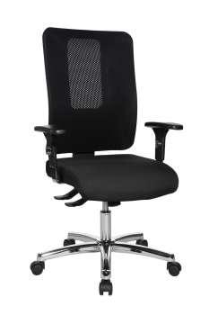 Kancelářská židle Open X Deluxe - synchro, černá