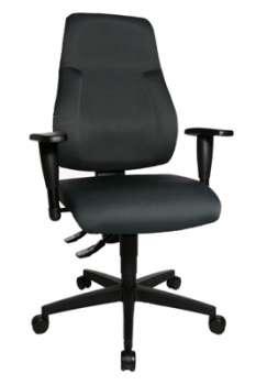 Kancelářská židle Topstar Lady Sitness Lux - tmavě šedá