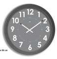 Nástěnné hodiny Big - průměr 55 cm, šedé