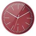 Nástěnné hodiny Color - červené