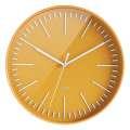 Nástěnné hodiny Color - žluté