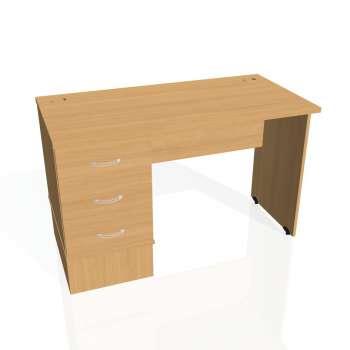 Psací stůl Hobis GATE GEK 1200 23, buk/buk