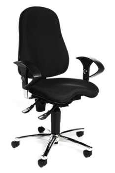 Kancelářská židle Topstar Sitness - černá