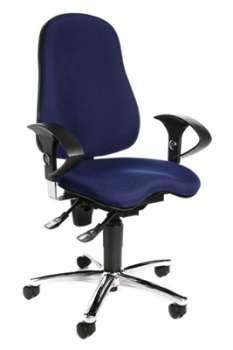 Kancelářská židle Topstar Sitness - modrá