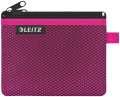 Dvojitá textilní kapsa, Leitz WOW - malá, růžová