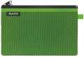 Dvojitá textilní kapsa, Leitz WOW - velká, zelená