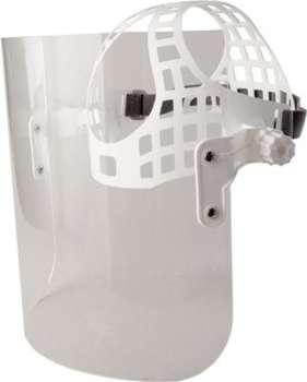 Ochranný štít Š-P 28, bílá