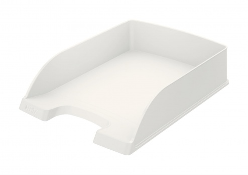 Zásuvka LEITZ PLUS - A4, plastová, bílá
