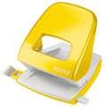 Děrovačka Leitz WOW NeXXt 5008  - 30 listů, kov, metalicky žlutá