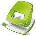 Děrovačka Leitz WOW NeXXt 5008  - 30 listů, kov, metalicky zelená