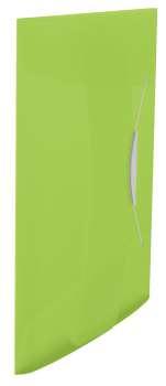 Desky na dokumenty s chlopněmi a gumičkou Esselte VIVIDA - A4, zelená