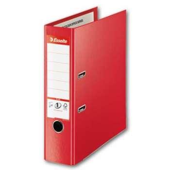 Pákový pořadač Esselte VIVIDA Maxi - A4+, plastový, hřbet 8 cm, červený