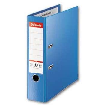 Pákový pořadač Esselte VIVIDA Maxi - A4+, plastový, hřbet 8 cm, modrý