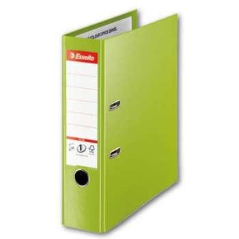 Pákový pořadač Esselte VIVIDA Maxi - A4+, plastový, hřbet 8 cm, zelená