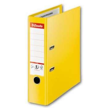 Pákový pořadač Esselte VIVIDA Maxi - A4+, plastový, hřbet 8 cm, žlutá