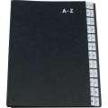 Třídicí kniha Q-Connect - A4, A-Z, černá