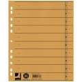 Papírové rozlišovače Q-Connect - A4, žluté, 100 ks