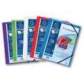 Prezentační desky na dokumenty s gumičkou Exacompta - A4, mix barev, 5 ks