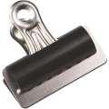 Kovové klipy Q-Connect Quick Clips - 70 mm, stříbrná/černá, 10 ks