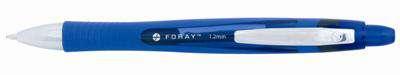 Kuličkové pero Foray Softgrip, modré, 12 ks