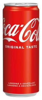 Coca Cola - 24x 0,33 l, plech