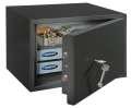 Nábytkový trezor Power Safe 300 DB  S2 - na klíč, antracitový