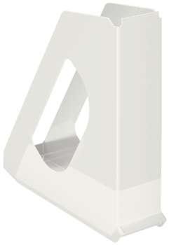 Stojan na časopisy Esselte VIVIDA - plastový, bílá