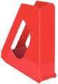 Stojan na časopisy Esselte VIVIDA - plastový, červený