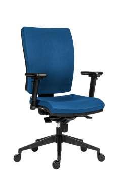 Kancelářská židle Galia Plus N - synchro, modrá