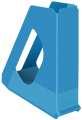 Stojan na časopisy Esselte VIVIDA - plastový, modrý