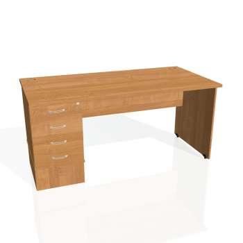 Psací stůl Hobis GATE GSK 1600 24, olše/olše