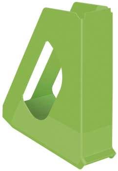 Stojan na časopisy Esselte VIVIDA - plastový, zelená