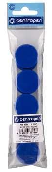 Magnety Centropen - modré, sada 10 ks