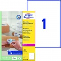 Samolepicí adresní krycí etikety Avery - 199,6 x 289,1 mm, 100 ks