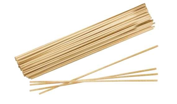 Dřevěné špejle, 100 ks