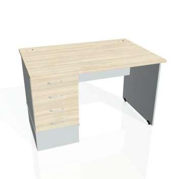 Psací stůl Hobis GATE GSK 1200 24, akát/šedá