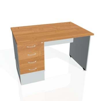 Psací stůl Hobis GATE GSK 1200 24, olše/šedá