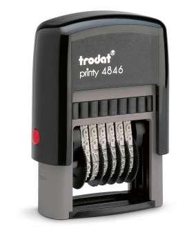 Číslovačka Trodat 4846