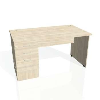 Psací stůl Hobis GATE GSK 1400 24, akát/akát