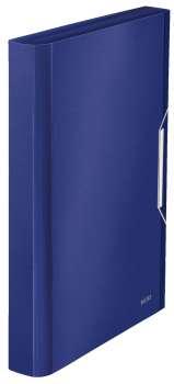 Aktovka na dokumenty LEITZ STYLE - A4, titanově modrá