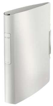 Čtyřkroužkový pořadač LEITZ 180° Active STYLE - A4, mobilní, plastový, hřbet 6,5 cm, arkticky bílá