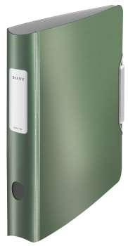 Pákový pořadač LEITZ 180° Active STYLE - A4, mobilní, plastový, hřbet 6,5 cm, zelenkavý