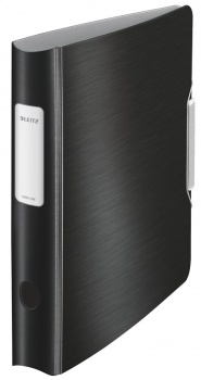 Pákový pořadač LEITZ 180° Active STYLE - A4, mobilní, plastový, hřbet 6,5 cm, saténově černý