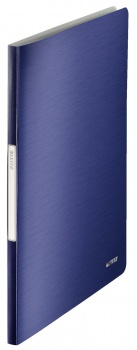 Katalogová kniha LEITZ STYLE - A4, titanově modrá, 20 kapes