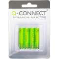 Alkalické baterie Q-Connect - 1,5V, LR03, typ AAA, 4 ks
